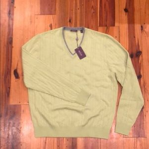 Aristo 100% Cashmere sweater - M - light green